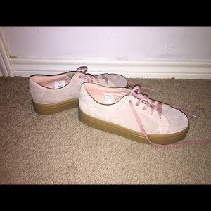 Tan asos sneakers